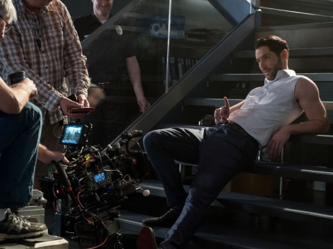 Lucifer star Tom Ellis shares BTS video of epic finale dance as fans continue to campaign for season 5