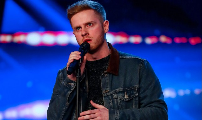 MARK MCMULLAN on Britain's Got Talent
