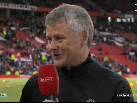 Ole Gunnar Solskjaer aims dig at Manchester United centre-backs after Jaap Stam and Ronny Johnsen impress
