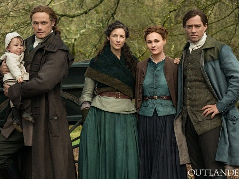 Behind the scenes preview of Outlander season 5 finally has all the main cast on set together