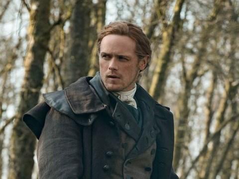 Outlander season 5 photos show Jamie Fraser's sharp new look as Sam Heughan gives fans a sneak peek at the new series