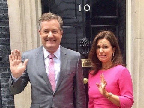 Piers Morgan throws his name into the mix for Prime Minister after Theresa May resigns