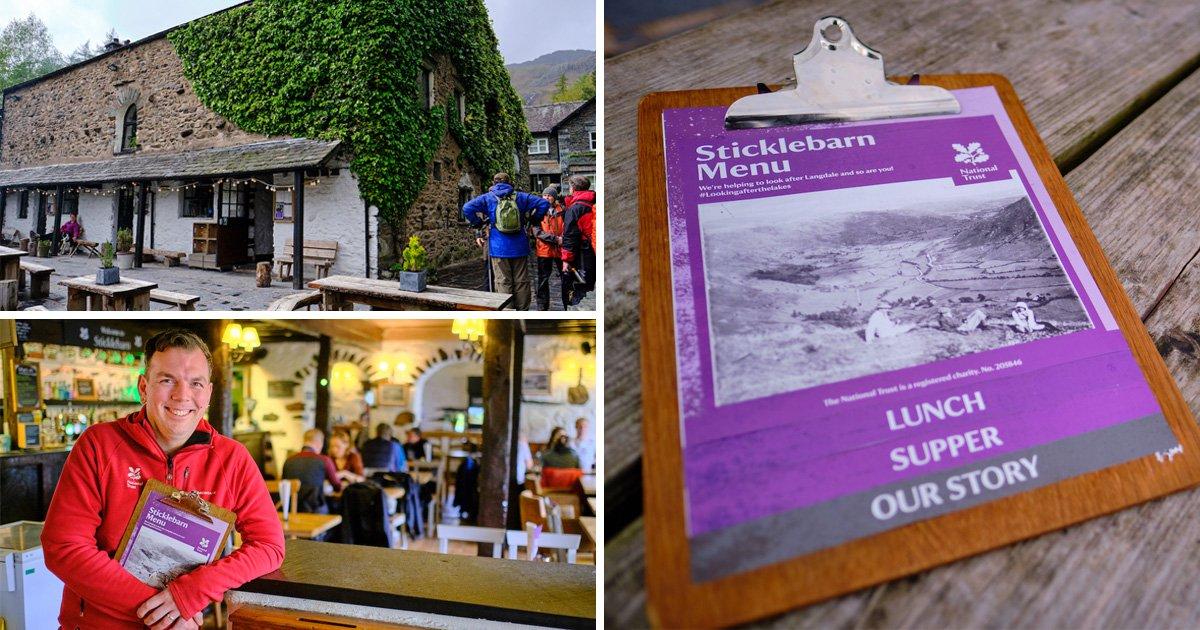 Pub tells customers the carbon footprint of every item on its menu