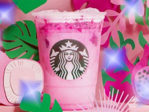 Starbucks US launches new bright pink Dragon Drink made with coconut milk