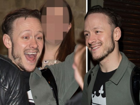 Kevin Clifton grins bigger than a Cheshire cat amid Stacey Dooley romance rumours
