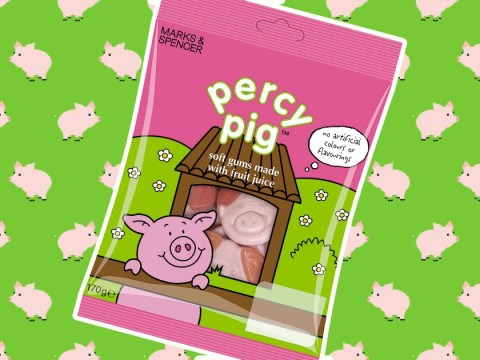 We taste-test the new vegetarian Percy Pigs