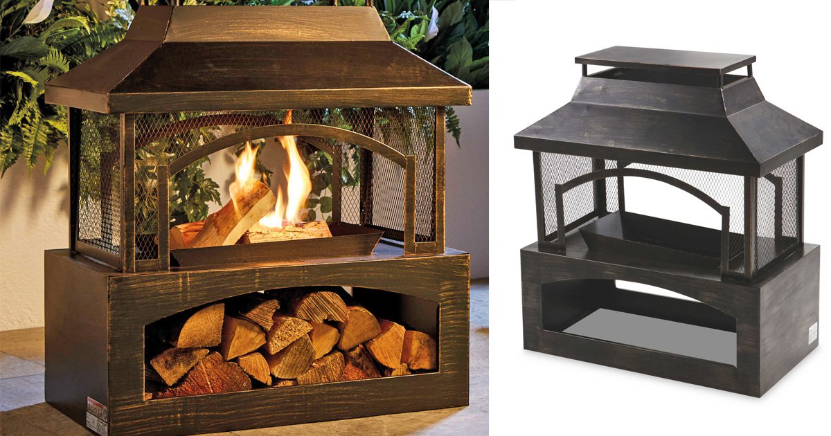 Compilation of Aldi's log burner