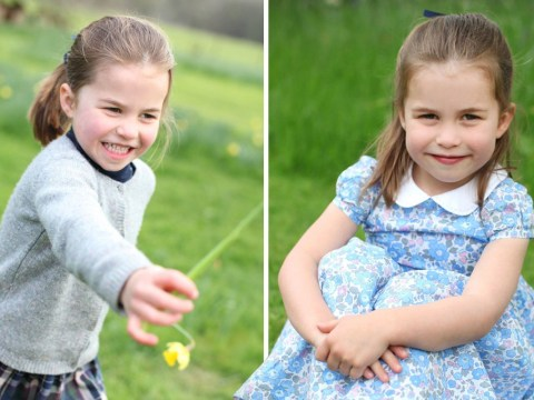 Princess Charlotte in pictures as she celebrates her fourth birthday
