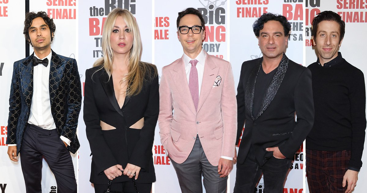 Kaley Cuoco and cast serve looks at The Big Bang Theory series finale wrap party