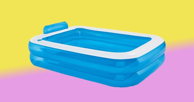 flipboard lidl is selling a paddling pool with a cup. Black Bedroom Furniture Sets. Home Design Ideas