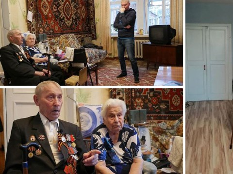 Russian builder renovates war veterans' and disabled people's homes for free
