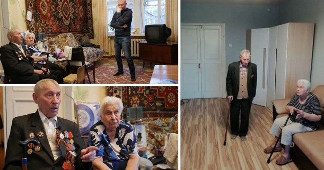 Anton Savchuk, a Russian builder, renovates the homes of war veterans and disabled people