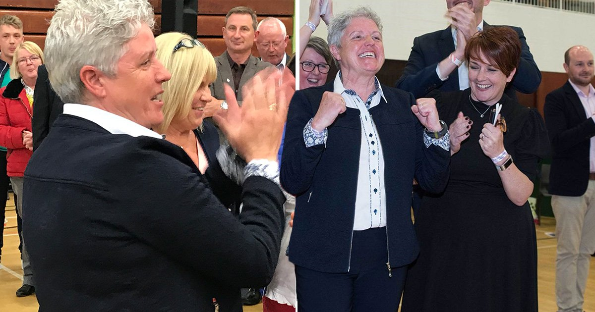 Historic moment as woman becomes DUP's first openly gay candidate to be elected