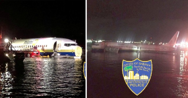 Plane carrying 143 people from Guantanamo Bay crashes into river