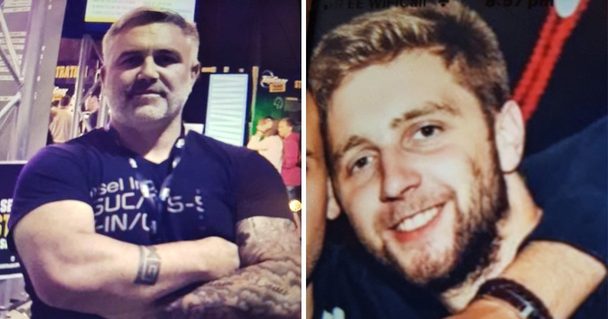 Father and son Daniel and Liam Poole haven't been heard from in over a month after going on a six-day holiday (Picture: Ferrari)