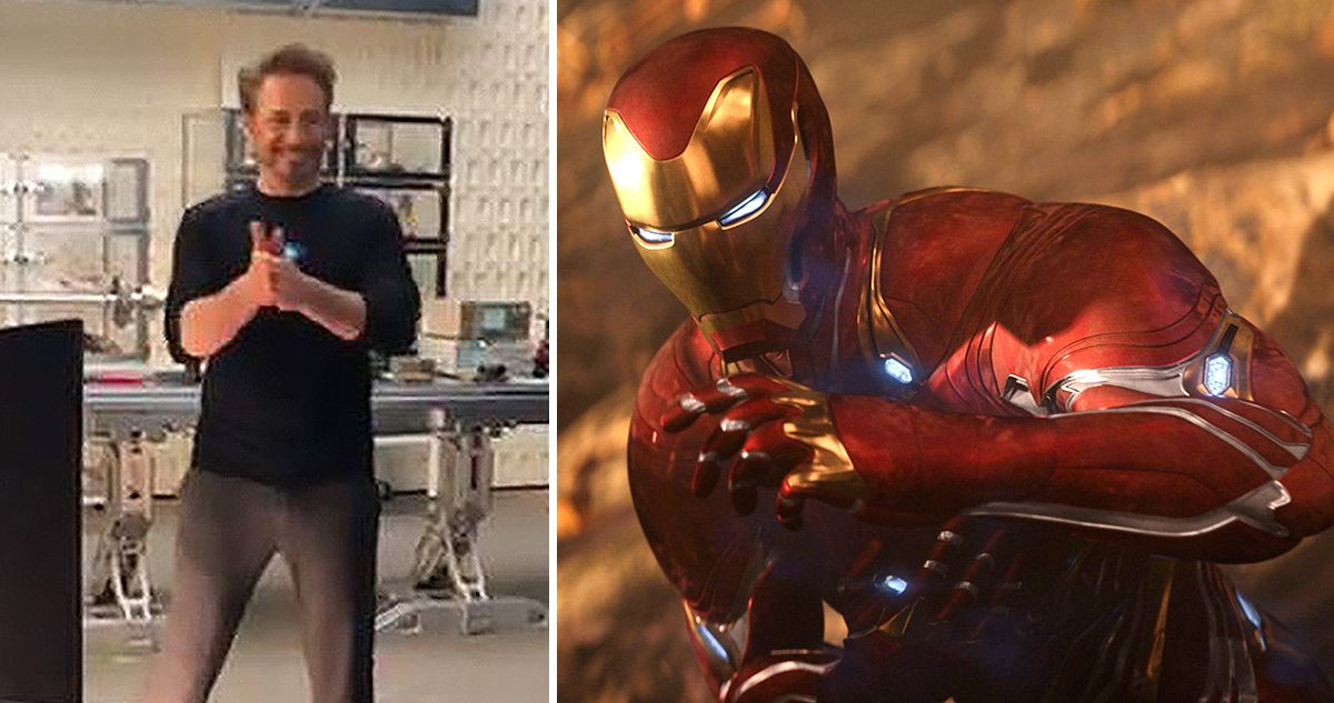 Robert Downey Jr shows off diva side as he demands 'no notes' in behind the scenes look at Avengers: Endgame