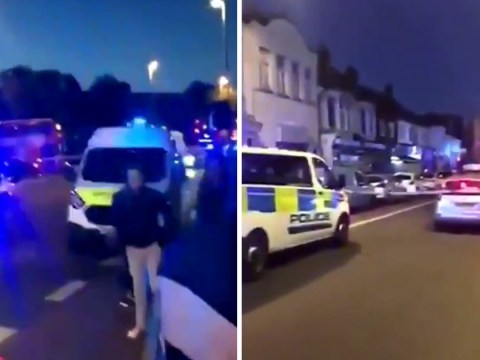 Three men shot in street in another night of violence in London