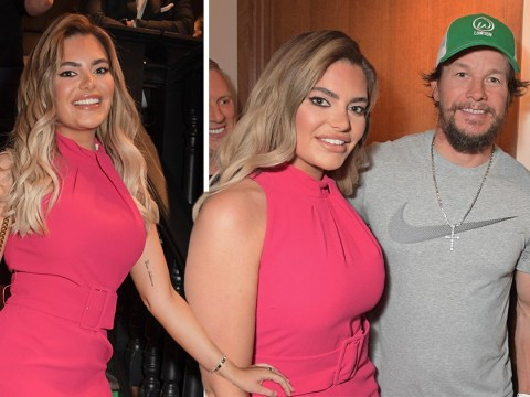 Megan Barton-Hanson is an actual queen as she hangs out with Mark Wahlberg and Liam Payne at Wahlburgers launch