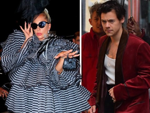 Harry Styles and Lady Gaga already going hard with the fashion at pre-Met Gala soiree