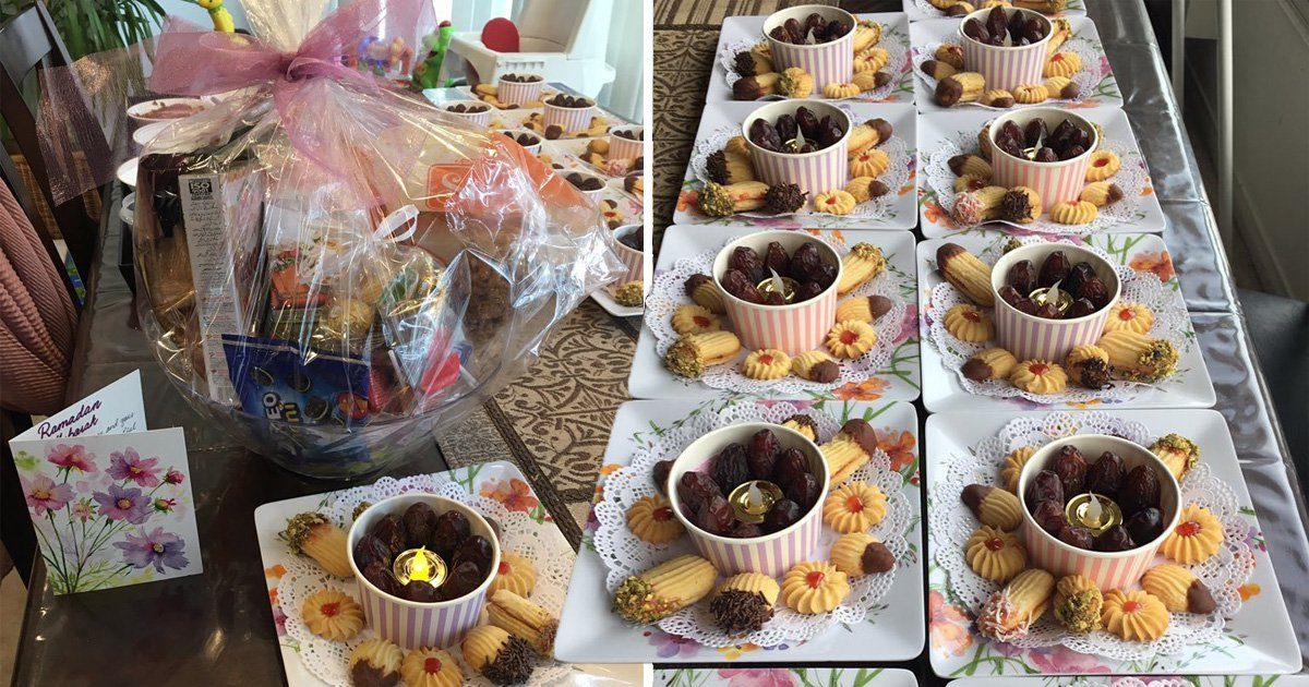 Muslim mum makes glorious Ramadan care packages for all her neighbours