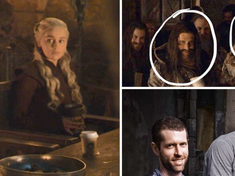 Game Of Thrones showrunners were in coffee cup scene and still didn't notice