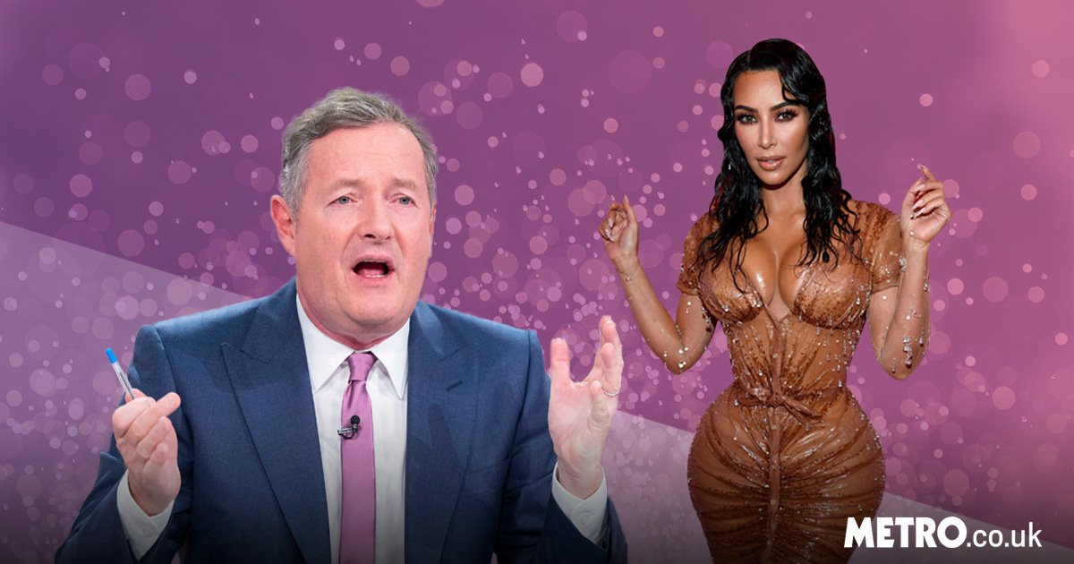 Piers Morgan rips into Kim Kardashian yet again after Met Gala: 'Look at the state of that'