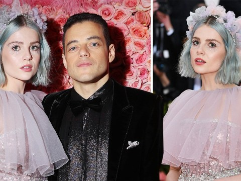 We need to talk about Rami Malek and real life angel Lucy Boynton at Met Gala 2019