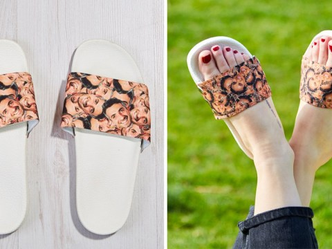 You can now get your partner's face on a flip flop… because who wouldn't want to do that?