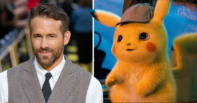 Ryan Reynolds has shared a 'leak' of Detective Pikachu