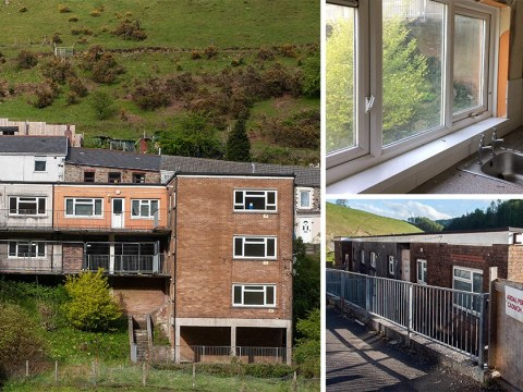 Flats with stunning views on the market for just 10p