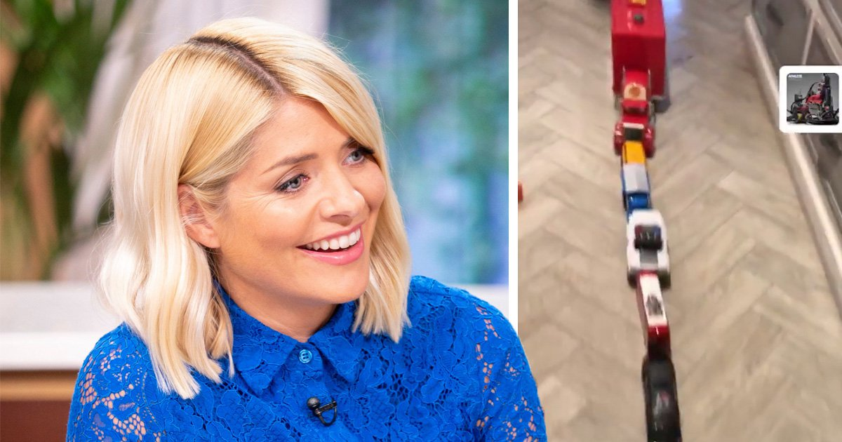 Holly Willoughby shows off her son's organisational skills in rare glimpse into her family home