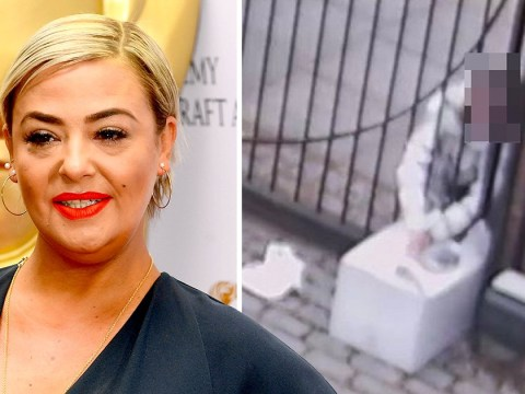 Lisa Armstrong catches thief red handed as woman tries to 'steal package from yard'