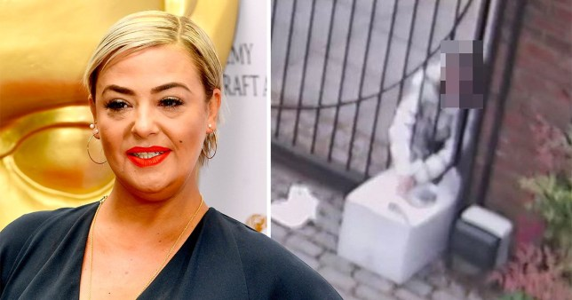 Lisa Armstrong catches thief in front yard