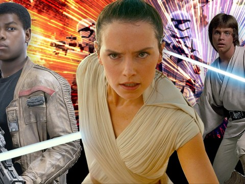 When will the new Star Wars trilogy be released?