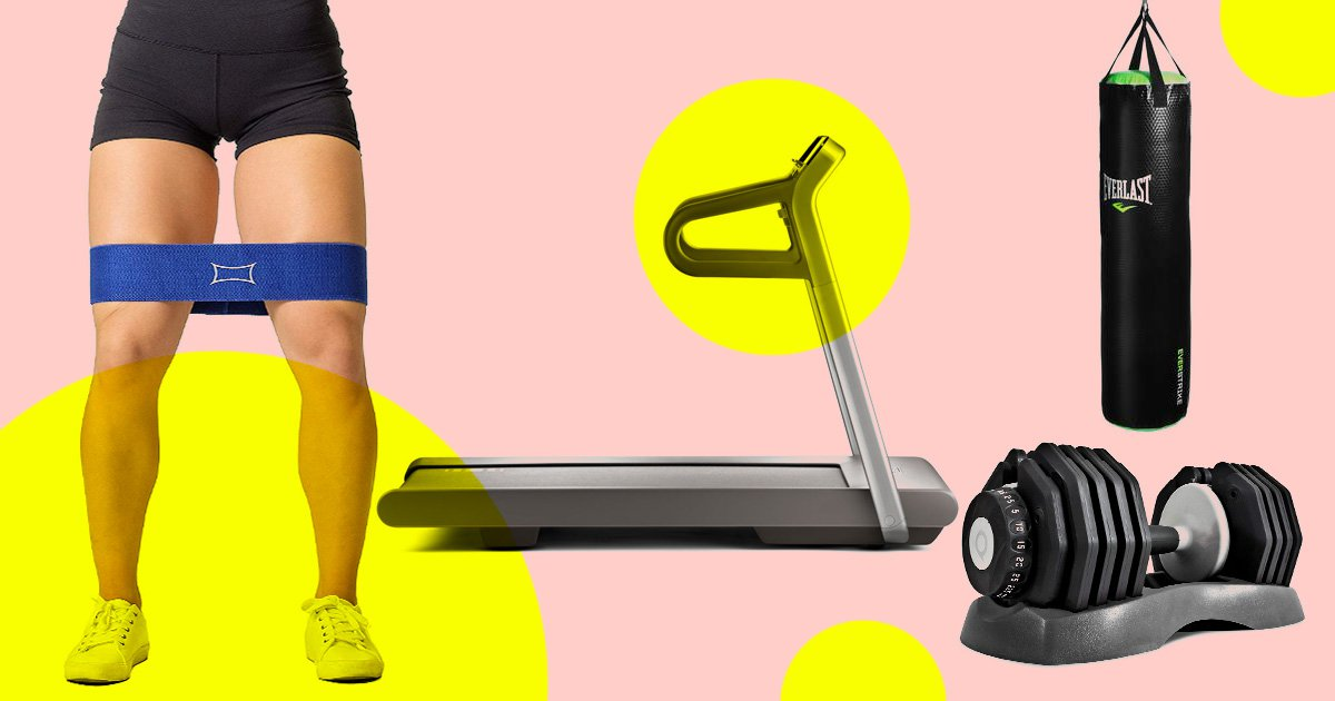 All the equipment you should buy to create the perfect home gym