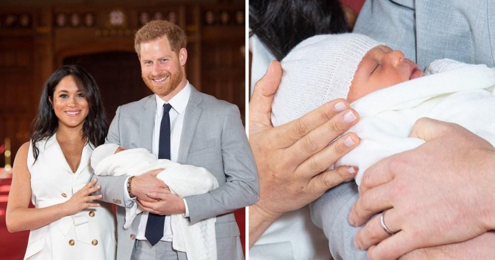 Baby Harry Meghan Wann