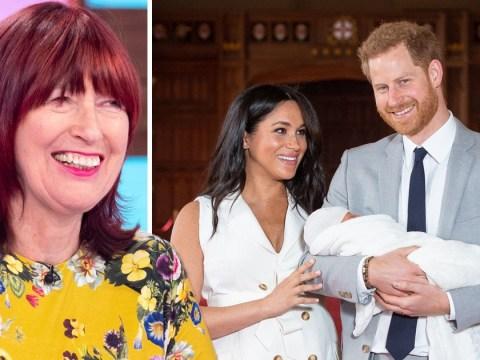 Janet Street-Porter mocks Prince Harry as he introduces Royal Baby to the world alongside Meghan Markle