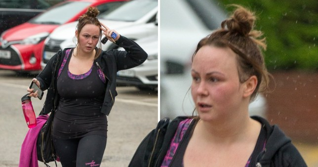 Chanelle Hayes hits the gym after 'struggling' with being trolled over her weight