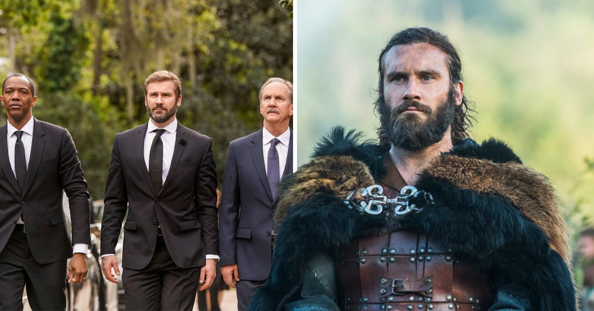 Vikings star Clive Standen celebrates with 'happy dance' as Council Of Dads gets picked up to series