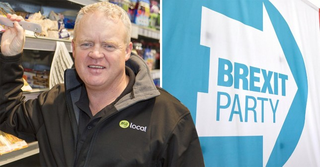 Mike Greene will stand in the Peterborough by-election for Nigel Farage's Brexit Party