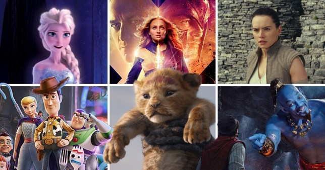 What is Disney's upcoming release schedule for 2019, 2020 and beyond