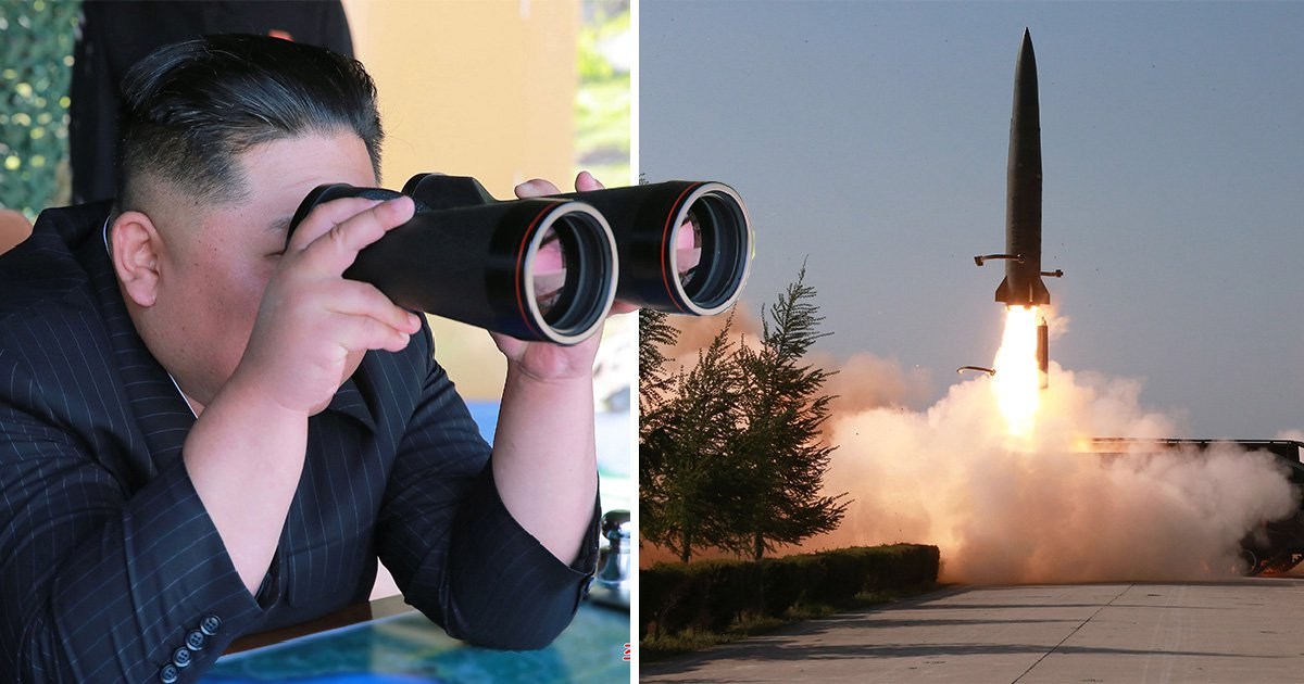North Korea fires two missiles in latest weapons test