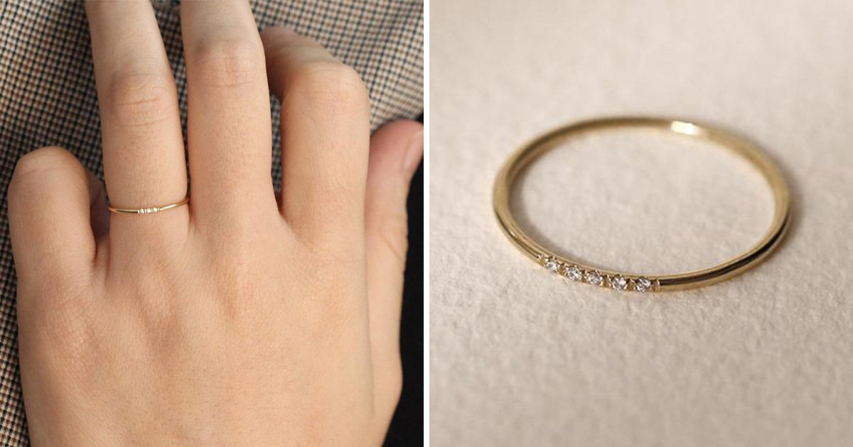 Woman mocked for her 'tiny' engagement ring and told not to bother wearing it