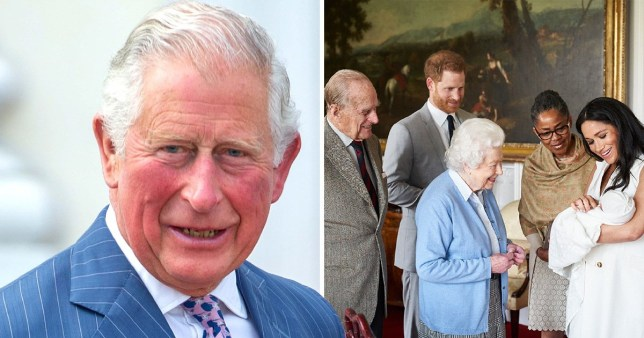Archie Harrison Mountbatten-Windsor will get an automatic title in the future (Picture: Getty)