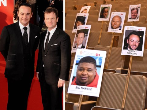 Ant and Dec will be Dec and Ant at the TV BAFTAs, and everything we know is a lie