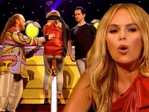 Britain's Got Talent's Amanda Holden wasn't prepared for an eclair up her bum