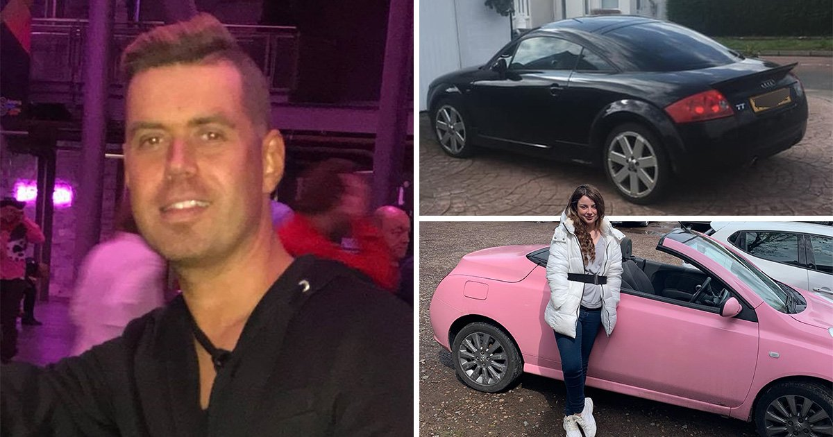 Sarah Hutchinson, 24, sold her car at a discount to Mark McCallum (Picture: Kennedy News and Media)