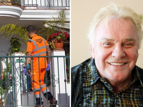 Police spotted at Freddie Starr's home in Spain before body is removed