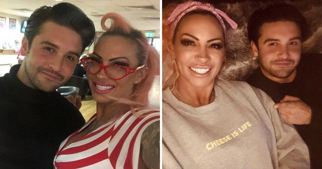 jodie marsh dating elvis impersonator Billy Collins Nuttall 23 years old after split from wayne lennox