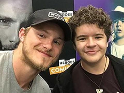 Vikings star Alexander Ludwig randomly meets Stranger Things' Gaten Matarazzo and we're here for it